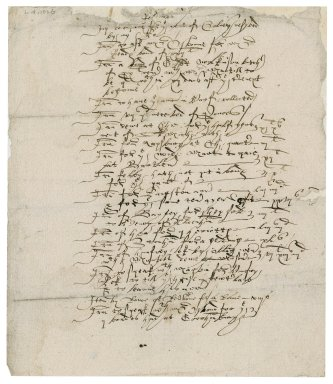 Memoranda by Nathaniel Bacon concerning property of Sir Nicholas Bacon, lord keeper