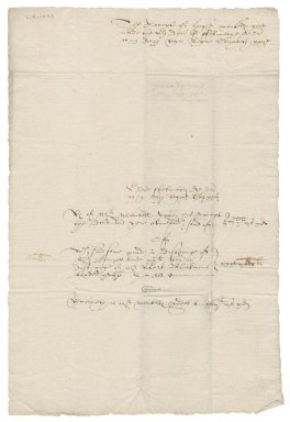 Account from Hugh Mantell to Nathaniel Bacon and Sir Nicholas Bacon, 1st bart.