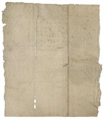 Receipt from Humphrey Abdy to Lady Jane (Stanhope), Lady Berkeley