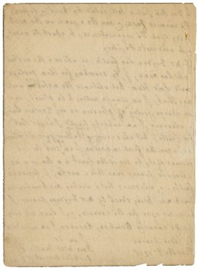 Letter from John Dennis to Jacob Tonson I : autograph manuscript signed