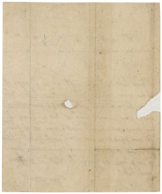 Letter from Elizabeth Jekyll to Jacob Tonson : autograph manuscript signed