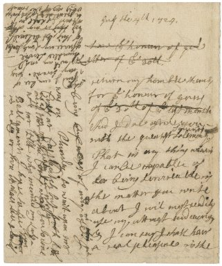 Letter from Sir Joseph Jekyll to Jacob Tonson : autograph manuscript signed