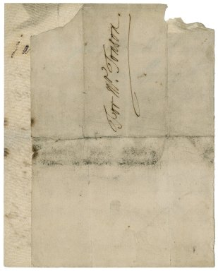 Letter from Henrietta Churchill, Duchess of Marlborough, to Jacob Tonson II : autograph manuscript signed
