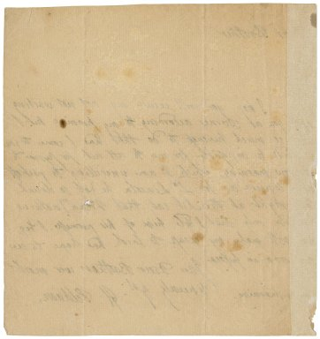 Letter from Henry Pelham to Thomas Pelham-Holles, Duke of Newcastle? : autograph manuscript signed
