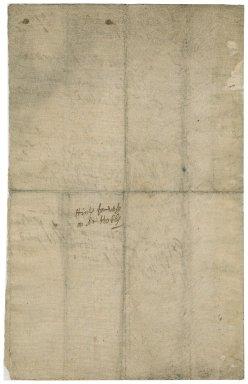 Hints for verses on Dr. Hobbs : manuscript