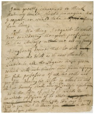 Report of conversations with Jacob Tonson I and Jacob Tonson II : manuscript