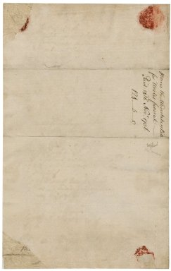 Bill for funeral expenses of Jacob Tonson : manuscript
