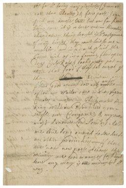 Letter from Jacob Tonson to Sir John Vanbrugh : autograph manuscript fragment