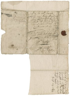 Letter from Charles Lambart, later Earl of Cavan, Barnard Grenville, and Sir William Wrey, bart., at Trinity, to Captain Robert Bennet
