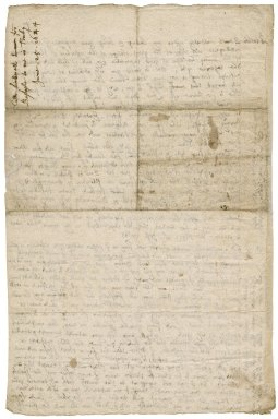 Autograph letter signed from Colonel John Luttrell, Barnstaple, to Robert Bennet, Tenby