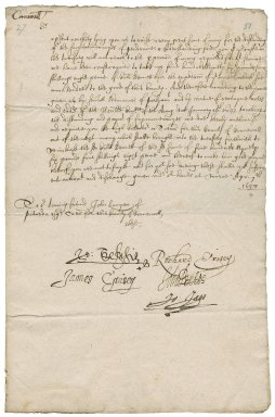 Warrant authorized by the Committee of the Army to John Lampen of Patreda, treasurer of Cornwall