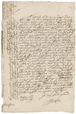 Letter from Sir Hardress Waller, Bodmin, to Colonel Robert Bennet, Penryn