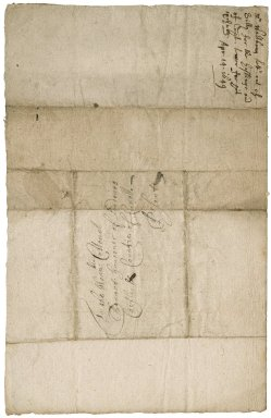 Letter from Thomas Waltham, Scilly, to Colonel Bennet, governor of Pendennis Castle