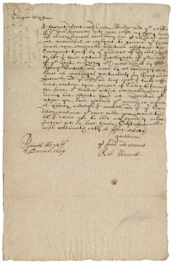 Letter from Robert Bennet, Plymouth, to Ensign Waight and the other gentlemen prisoners of Jersey : copy