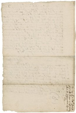 Letters from Robert Bennet to Lieutenant-Colonel Lower and Captain Courtney : drafts