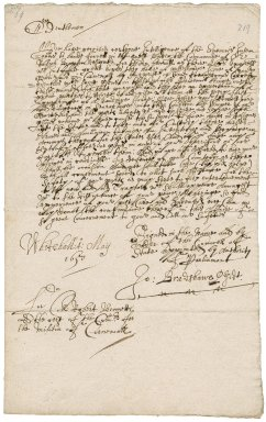 Letter from the Council of State, Whitehall, to Colonel Robert Bennet and the rest of the commissioners for the militia of Cornwall : copy