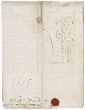 Letter from Sir William Godolphin, Boconnoc (Boconnock), to Colonel Bennet