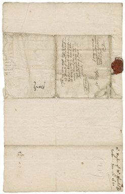 Letter from John Moyle at Westminster to Colonel Robert Bennet, Hexworthy in Lawhitton near Launceston