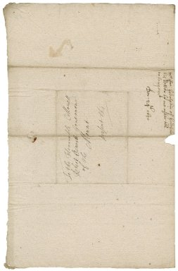 Letter from Francis Godolphin to Colonel Robert Bennet, governor of St. Michael's Mount,