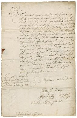 Letter from the Committee of the Council of State for the affairs of Ireland and Scotland to Colonel Robert Bennet