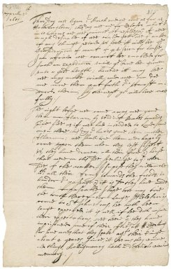 Letter from Major-General John Desborough, Plymouth, to Colonel Bennet