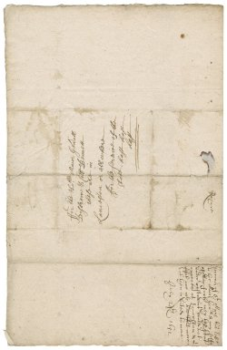 Letter from George Kekewich, Governor of St. Mawes, St. Mawes Castle, to Major-General Desborough and Colonel Bennet, Launceston