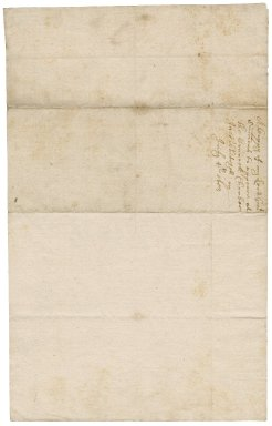 Order from Oliver Cromwell to Robert Bennet : copy