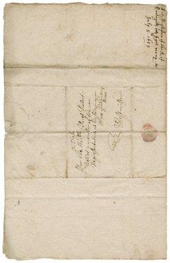 Letter from Peter Biglestone (Bigilstone), Tawstock (Tastock), to Colonel Robert Bennet