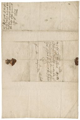 Letter from Robert Webb at Ilminster, Somerset, to Colonel Robert Bennet