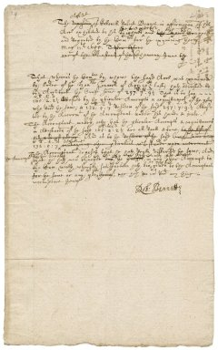 Petitions from Robert Bennet to the lord protector Oliver Cromwell : copy and drafts