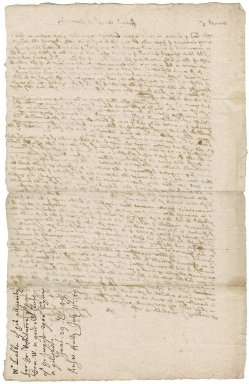Letter from Richard Lobb, Falmouth, to Robert Bennet, M.P.