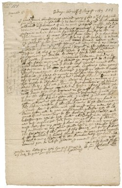 Letter from Richard Lobb, Bodmin, to Robert Bennet