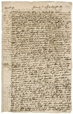 Letter from Richard Lobb, Falmouth to Robert Bennet