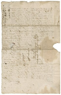 Letter from Richard Lobb to Colonel Robert Bennet, M.P., Westminster