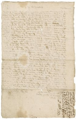 Letter from Richard Lobb, Falmouth, to Colonel Robert Bennet