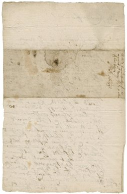 Letter from Colonel Thomas Ceely to Robert Bennet