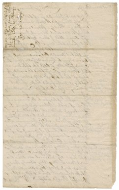 Letter from William Bennet, London, to his brother Robert Bennet