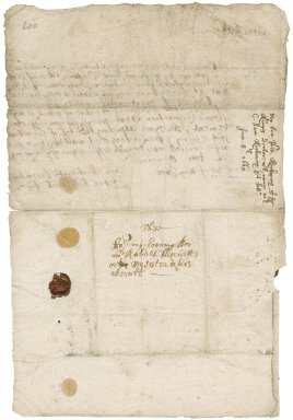 Letter from Peter Kekewich, Trehawke (Trehauke), to Robert Bennet or his (Kekewich's) sister in his (Bennet's) absence