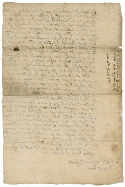 Lease from John Doble of Larrick (Larrack) in the parish of Lezant (Lesant) to John Rowe of North Petherwin, Devon : copy