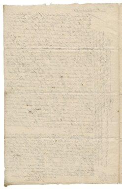 Letter from John Talbot, Exeter, to Colonel Robert Bennet, London