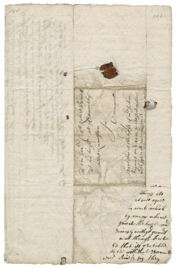 Letter from John Pendarves, Abingdon