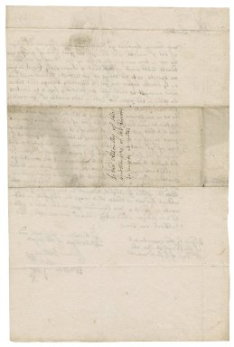 Letter from Thomas Dobbins and Walter Vine