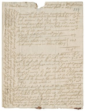 Letter from Stephen Revell, Westminster, to Colonel Robert Bennet, Hexworthy