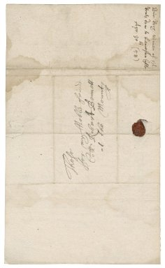 Letter from Sir Richard Vyvyan, Trelowarren, to Colonel Robert Bennet, St. Michael's Mount