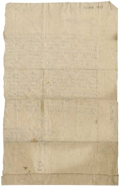 Letter from William Fullerton to Patrick Rattray of Craighall, ca. 1665.