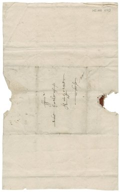 Letter from Earl of Kinghorne to Patrick Rattray of Craighall