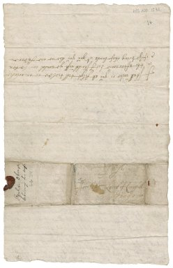 Letter from John Ogilvy of Balfour to James Rattray of Craighall, Blakstoun