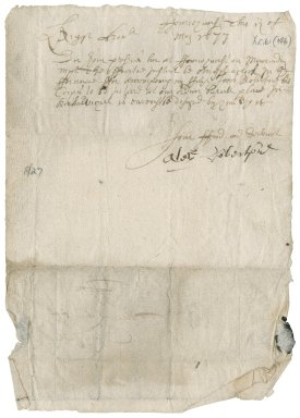 Letter from Alexander Robertson to James Rattray of Craighall, Ferniehurst