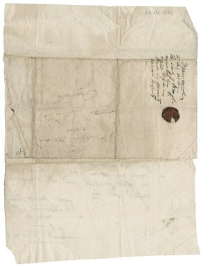 Letter from Drummond to Ann Drummond, wife of Patrick Rattray of Craighall