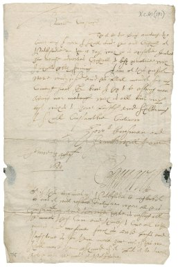 Letter from Lord Kinnaird to Hay, Laird of Kirkland